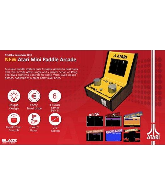 Consola Atari 5 Game Mini Paddle Arcade 5060201659983 23 95 Ventavideojuegos Tienda Online De Videojuegos